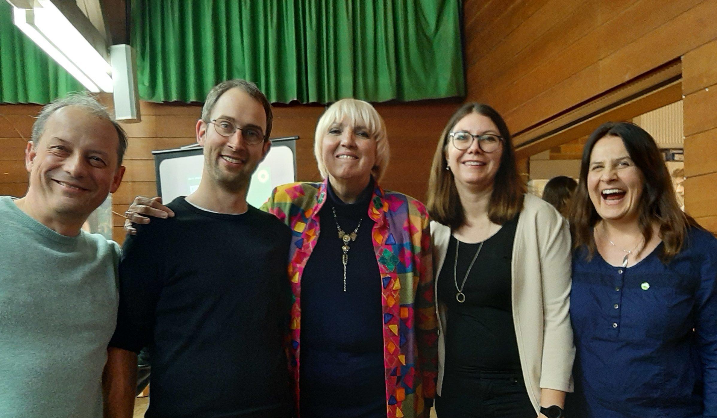 Claudia Roth Begeistert Beim Neujahrsempfang Des Kreisverbands Bundnis 90 Die Grunen Bundnis 90 Die Grunen